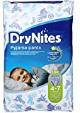 DryNites Pyjama Pants for Boys - Age 4-7 (17-30 kg), 10 x 3 Packs (30 Pants)