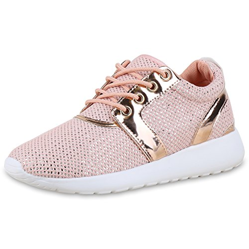 Sneakers per donna Caspar Fashion hCcGI9