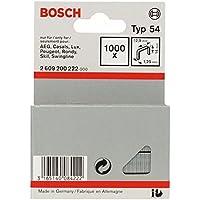 Bosch 2 609 200 222 - Grapa de alambre plano tipo 54-12,9 x 1,25 x 14 mm (pack de 1000)