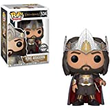 FunKo – 27369 ,Lord of The Rings Pop King Aragorn Exclusivité