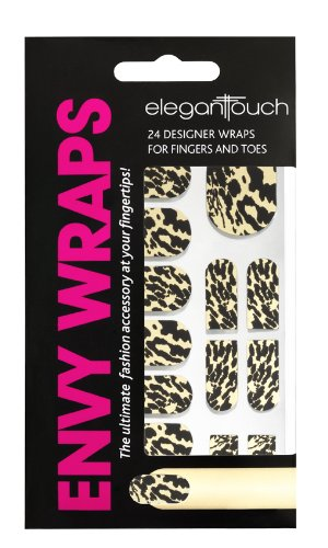 Elegant Touch Gold Bengal Metallic Nail Envy Wraps (Wrap Geraffte)