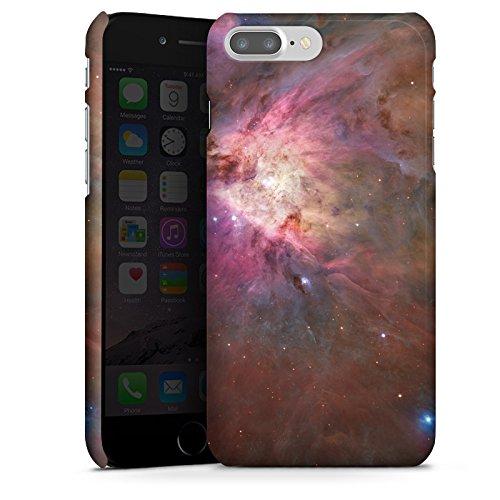 Apple iPhone X Silikon Hülle Case Schutzhülle Galaxy Muster Orion Nebel Premium Case glänzend