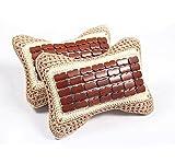 HZJ Summer Ice Pieces Neck Pillow Hand-Woven Bamboo Opening Pillow Ice Head Pillow