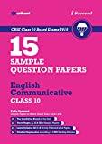 15 Sample Question Papers English Communicative for Class 10 CBSE