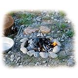 Relags parrilla plegable Basic Barbacoa, Plata, One size