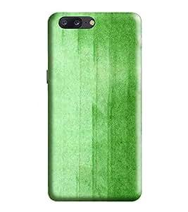 HiFi Designer Phone Back Case Cover Apple iPhone 7 Plus :: Apple iPhone 7+ ( Green Simple Plane Case )