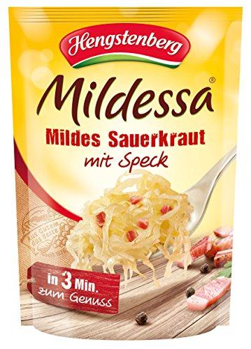 Preisvergleich Produktbild Hengstenberg Mildessa Mildes Sauerkraut mit Speck,  6er Pack (6 x 400 g)