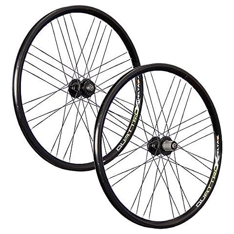VUELTA 26 pouces ensemble roues vélo Airtec1 JoyTech Disc 6 trous 559-21 noir