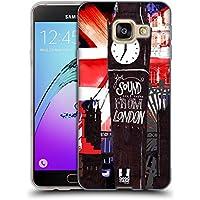 Head Case Designs Silhouettes J'aime Londres Étui Coque en Gel molle pour Samsung Galaxy A3 (2016)