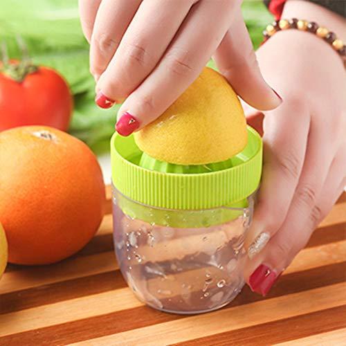 Zonster Manual 1PC Lima limón exprimidor de cítricos Eco Material Respetuoso del Juicer de la Prensa...