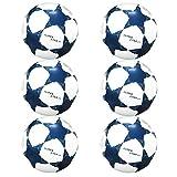 Best Sporting Super Star 2.0 Trainingsball 1, 6 oder 12 Stück (weiß 6)
