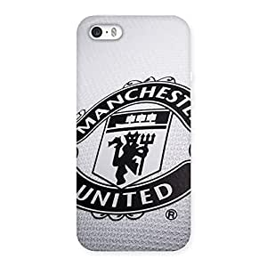 Enticing Grey MU Team Back Case Cover for iPhone SE