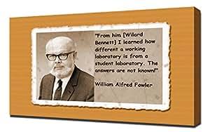 William Alfred Fowler 2 Motif citation Tirage d'Art sur toile