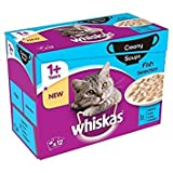 Whiskas 1+ Cat Pouch Creamy Soup Fish 12 x 85g
