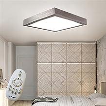 16W LED Dimmbar Modern Deckenlampe Deckenleuchte Schlafzimmer Kche Flur Wohnzimmer Lampe Wandleuchte Energie Sparen Licht Silber