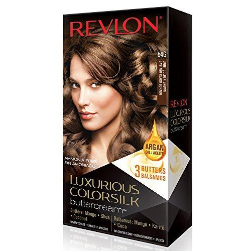 Revlon ColorSilk Luxurious Buttercream Haircolor, Light Golden Brown by Revlon