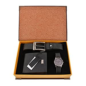 souarts ensemble coffret cadeau montre pour homme style 1 montres. Black Bedroom Furniture Sets. Home Design Ideas