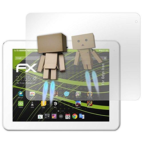 atFolix Bildschirmfolie kompatibel mit Odys Iron Spiegelfolie, Spiegeleffekt FX Schutzfolie