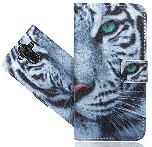 Ulefone Power 3 / Power 3S Handy Tasche, FoneExpert® Wallet Case Flip Cover Hüllen Etui Hülle Ledertasche Lederhülle Schutzhülle Für Ulefone Power 3 / Power 3S