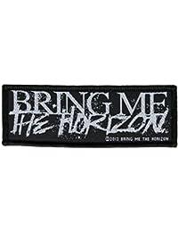 Bring Me The Horizon Horror Logo Aufnäher BMTH Patch Gewebt & Lizenziert !!