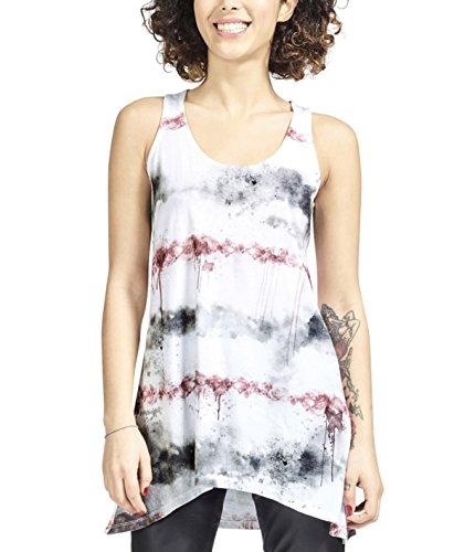 trueprodigy Casual Mujer Marca Camiseta De Tirantes Estampado Ropa Ret