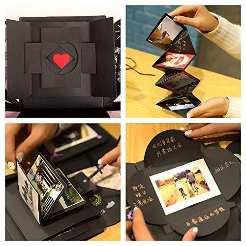 Ekkong Kreative überraschung Box Explosions Box Diy Faltendes Fotoalbumgeburtstag Jahrestag Valentine Hochzeit Geschenk Für Hochzeit Muttertag Diy