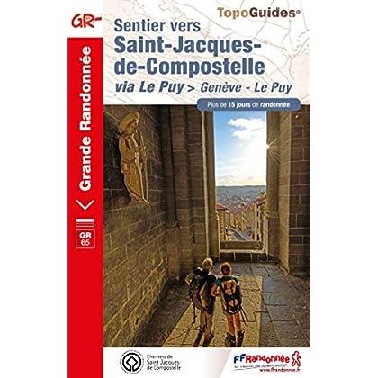 Sentier vers Saint-Jacques-de-Compostelle via Le Puy : Genève - Le Puy