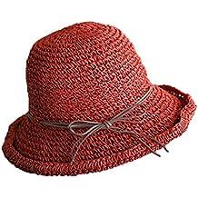 GMING-Hat Sombrero Chapeau Gorra sombrerería Tocado Sombrero De ala Ancha Sombrero  De Playa Sombrilla 6fb028f0d04