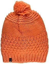 Quiksilver Planter Youth Beanie - Gorro con pompón para niño, color naranja, talla única