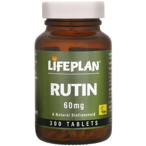 Lifeplan Rutin 60mg 300 Tablets Test