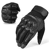 Neusky Herren Taktische Handschuhe Touchscreen Fahrrad Handschuhe Motorradhandschuhe MTB Handschuhe Mountainbike Handschuhe Outdoor Sport Handschuhe Ideal für Airsoft