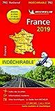 Carte France indéchirable Michelin 2019