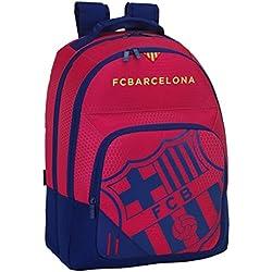 077061 F.C. Sac à dos Barcelona Type de Casual, Couleur Bleu et Grenat