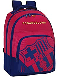 077061 F.C. Barcelona Mochila Tipo Casual, Color Azul y Granate