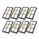 Hunpta@ Staubsauger Zubehör für iRobot Roomba Ersatzteile für iRobot Roomba 860 880 805 860 980 960 Staubsauger mit 8 Stück Filter (A)