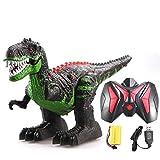Dinosaurier Spielzeug Elektronisches Spielzeug, Bewegliches Dinosaurierspielwaren mit Lichtern,Dino Figur Spielzeug 3 Jahre Jungen Mädchen Kinder