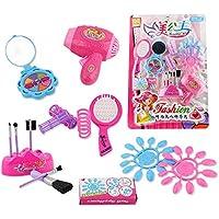 pink Rappa Umfangreiches Spielzeug Beauty Set Friseur f/ür kleine M/ädchen