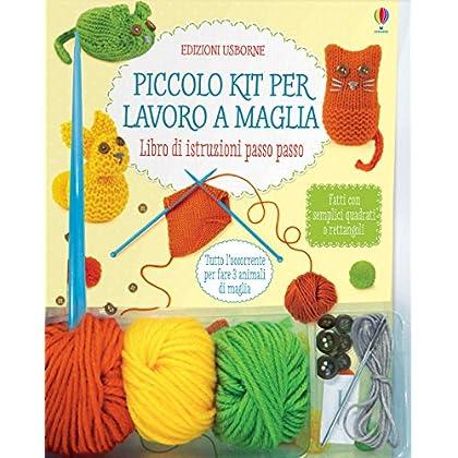 Piccolo Kit Per Lavoro A Maglia. Con Gadget