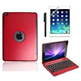 Best Boriyuan Cases For Ipad Minis - Boriyuan Keyboard Case for Ipad Mini (Red) Review