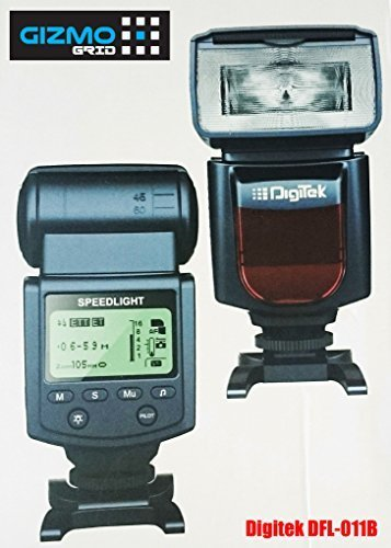 Digitek DFL-011B Electronic Camera Flash (Black)