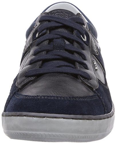 Geox U BOX C, Low-Top Sneaker uomo Blu (Blau (NAVYC4002))