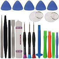 MUANI 20 in 1 Schraubendreher-Satz Handy Spudger Reparieren Bar Opening Tool Kit für iPhone Reparatur Handwerkzeuge preisvergleich bei billige-tabletten.eu