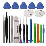 20 in 1 cacciaviti Set telefono cellulare Spudger riparazione Bar Tool Kit di apertura per iPhone di riparazione degli attrezzi manuali