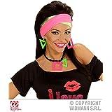 *** ANGEBOT *** - 80er JAHRE - ( Halskette, 2 Ohrringe & 2 Stirnbänder ) Schmuckset Kombinationen Kostümkombinationen Partyverkleidungen