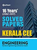 16 Year's Solved Papers Kerala CEE Engineering Entrance Exam