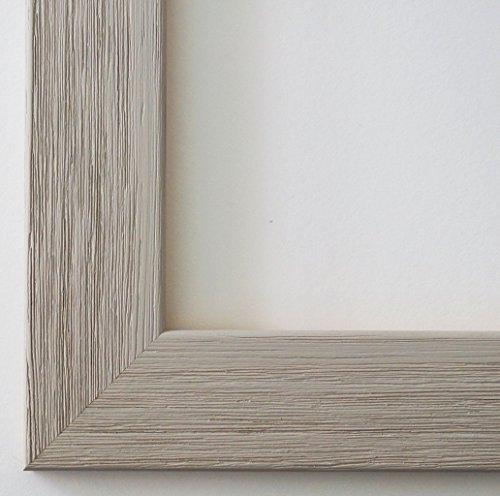 Spiegel Wandspiegel Badspiegel Flurspiegel Garderobenspiegel - Über 200 Größen - Florenz Grau 4,0 - Außenmaß des Spiegels 60 x 90 - Wunschmaße auf Anfrage - Antik, Barock