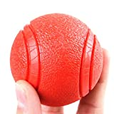 Dog Toys Bite Elastic Ball Teddy Molar Training Solid Ball Puppy Toy Ball, Size Optional. (Size : L)