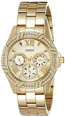 Guess W0632L2 - Reloj con correa de metal, para mujer, color plateado / dorado