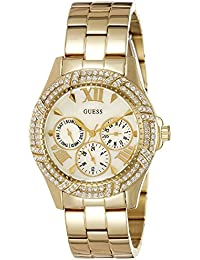 Guess Analog Mother of Pearl Dial Women's Watch - W0632L2