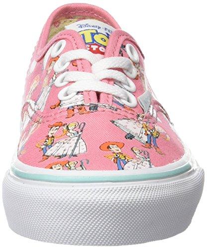 Vans Authentic, Baskets Basses Mixte Enfant Multicolore (Toy Story) Woody/Bo Peep_LU3)